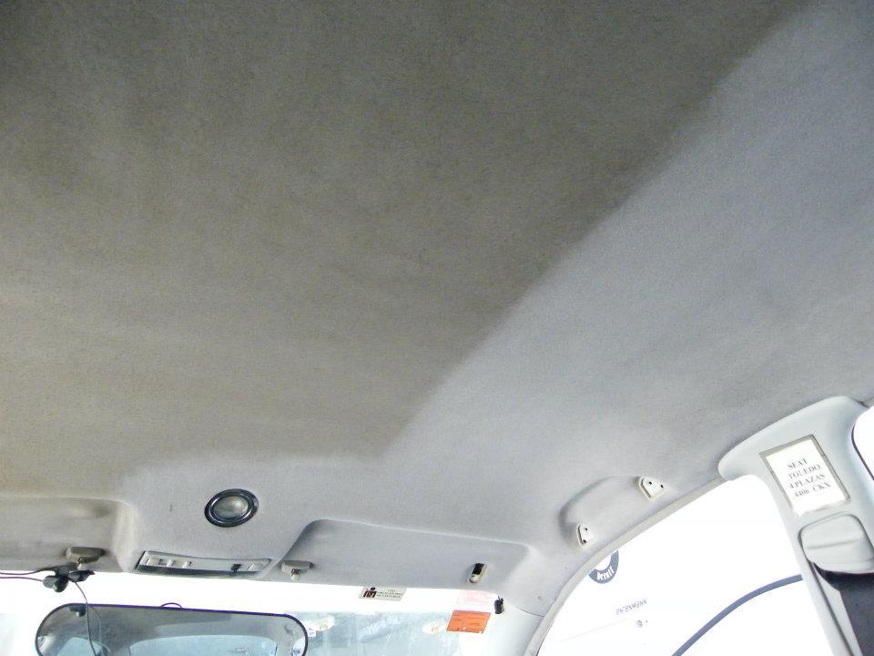 Чистка потолка автомобиля видео